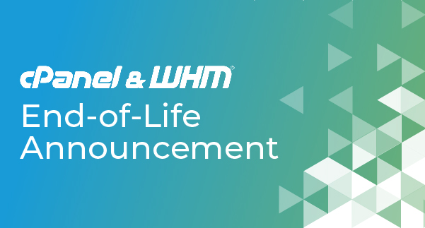 cPanel & WHM® Version 90 End of Life Announcement