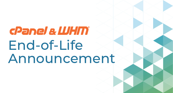 cPanel WHM Version 90 Now EOL